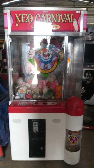 Grua Neo Carnival (máquina De Pegar Ursinhos De Pelúcia)