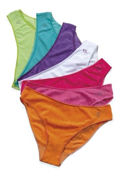 Paquete 7 Bikinis Semanario Pantys Surtidos 71420