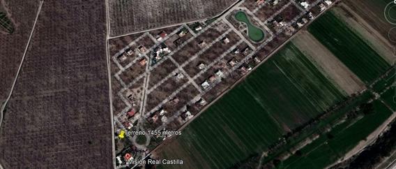 Terreno En Venta En Fraccionamiento Misión Real Castilla