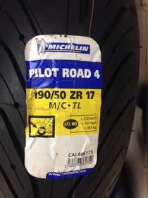 Pneu Michelin Pilot Road 4 190/50-17 Parcelamento E Frete Gr