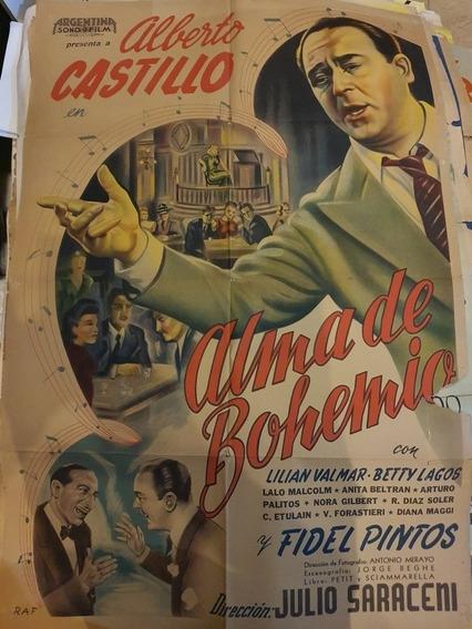 3 Antiguos Afiches De Cine Originales- Lote De 3- Oferta 31