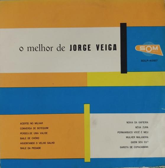 Lp Jorge Veiga O Melhor De 1969