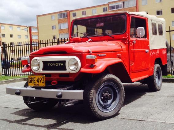 Hermoso Toyota Fj-43 Modelo 78 - Carpado