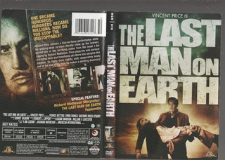 Dvd Original Zona 1 Usa Vincent Price The Last Man On Earth