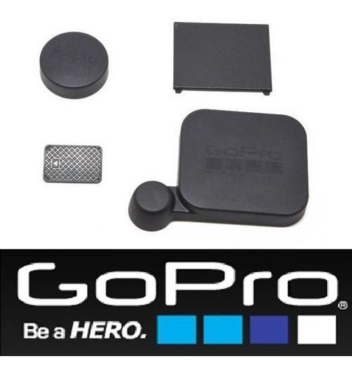 Gopro Hero 3 3+ Lentes Proteção E Tampa Da Porta E Alcak-302