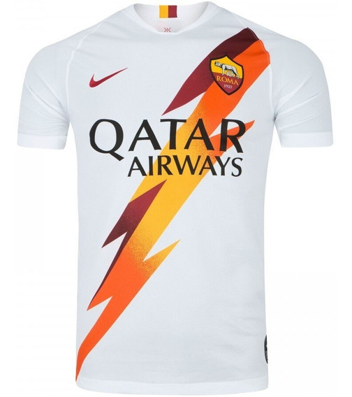 Camiseta De Futebol Oficial As Roma 2019 Sucesso De Vendas
