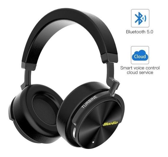 Fone Bluetooth 5.0 Bluedio T5 Versão Atualizada Com Anc