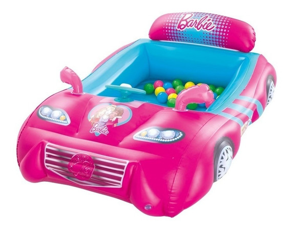 Ball Pit Pelotero Inflable Barbie Bestway 93207 Intergames
