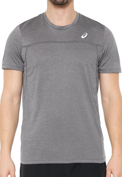 Camiseta Asics Running Blend Ss Cinza