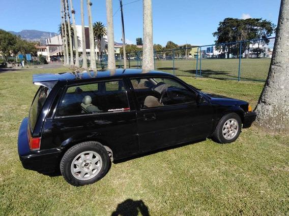 Honda Civic Hatchback 1984, Motor 1500, Negro, 2 Puertas