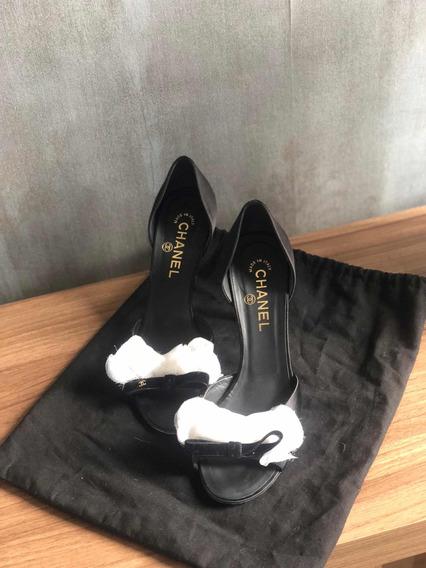 Sapato Chanel Original Usado