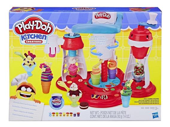 Play Doh Kitchen Creations Super Maquina De Helados - Hasbro