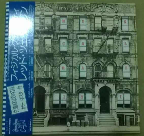 Cd Led Zeppelin Physical Graffiti Mini Lp (duplo)