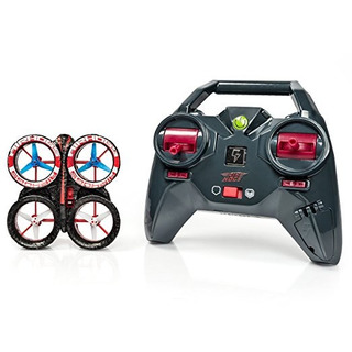 Air Hogs - Helix Ion Drone 2.4 Rojo / Negro