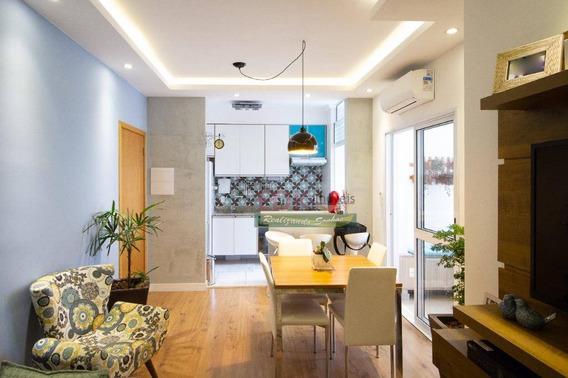 Apartamento Com 2 Dormitórios À Venda, 63 M² Por R$ 290.000 - Vila São José - Taubaté/sp - Ap2508