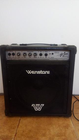 Amplificador Wenstone Be400 Para Bajo 40 Watts