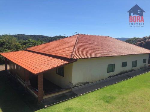 Chácara Com 4 Dormitórios À Venda, 5000 M² Por R$ 650.000 - Lagoa - Atibaia/sp - Ch0268