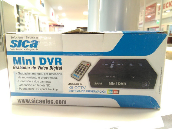 Dvr Sica Grabador De Video Digital Sica - Stg