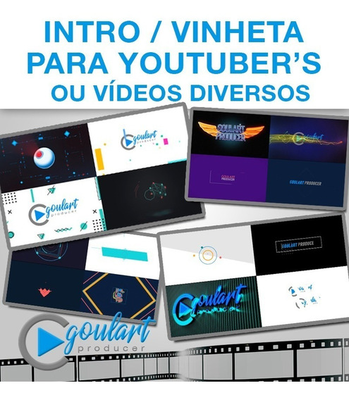 Intro Vinheta Para Canais Do Youtube