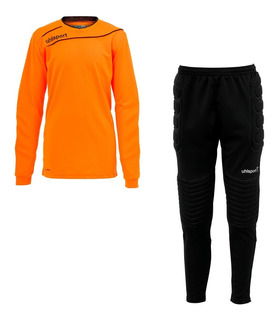 Set Arquero Junior Stream 3.0 Naranjo - Uhlsport