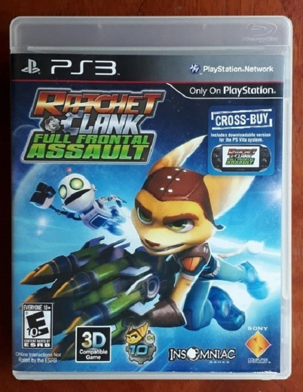 Ratchet & Clank: Full Frontal Assault - Ps3