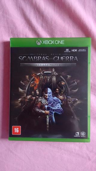 Terra Média Sombras Da Guerra - Xbox One - Original -físico