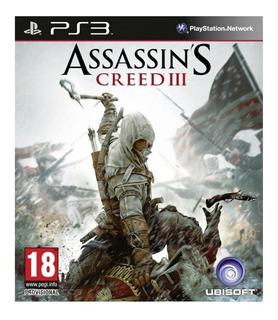 Assassins Creed 3 Iii Ps3 Playstation 3 .:ordex:.