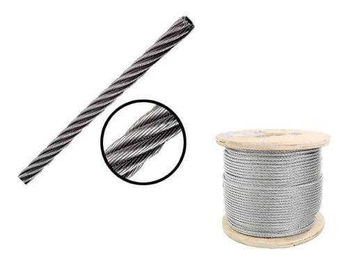 Imagen 1 de 1 de Cable Acero Galvanizado Diametro 5/16 75m 7x19 Obi 213623