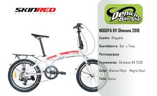 Bicicleta Plegable Skinred Nagoya 6 Vel. Oferta!!