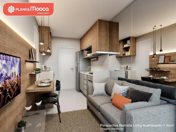 O 1 Dormitório C/vaga Super Espaçoso Com Varanda Integrada!