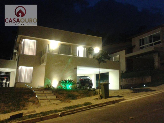Casa À Venda, Condomínio Quintas Do Sol, Nova Lima. - Ca0041