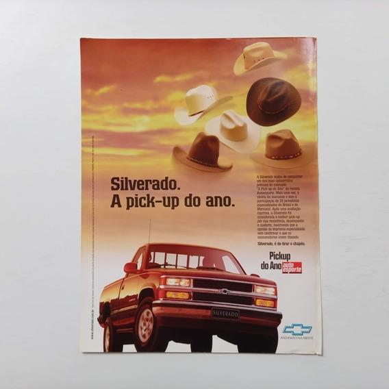 Picape Chevrolet Silverado 1997 - Propaganda Antiga