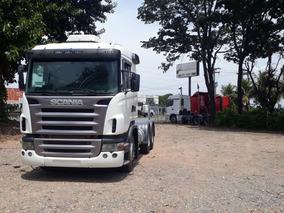 Scania G420 6x4 Ano 2010 Cabine Leito Motor Novo