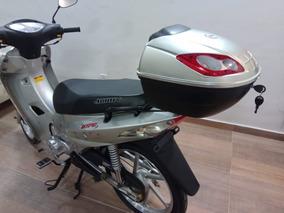 Baú Para Moto Compacto, Biz, Shineray E Outros.