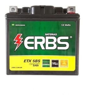 Bateria Erbs Honda Titan 125/50 Es Bros150 Bros125 Es