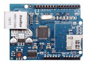 Ethernet Shield W5100 P/arduino- Rede Com Slot Para Sd Card
