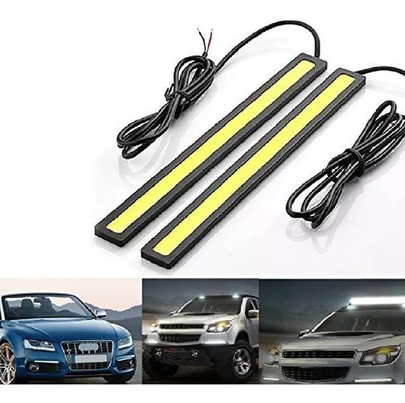 2 Luz Led Auxiliar Flexible Auto Camioneta Faro Barra