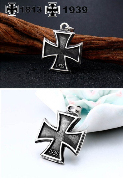 Colar Cruz De Ferro - Rock - Lemmy - Motorhead - Medalha