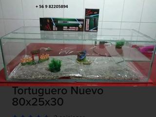 Tortuguero Acuario 80x25x30