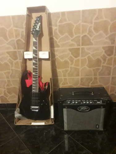 Guitarra Electrica Ibanez Gio Grg170dx Con Planta Peavey