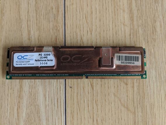 Memoria Ram Ocz 1024mb Pc3200 Usada