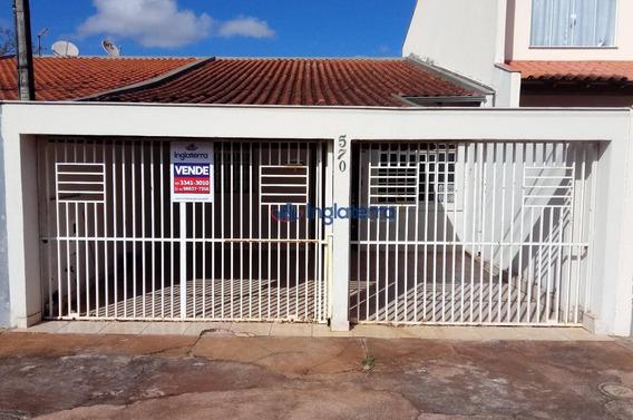 Casa Com 3 Dormitórios Para Alugar, 96 M² Por R$ 900,00/mês - San Fernando - Londrina/pr - Ca0917