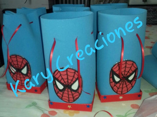 Bolsitas Golosineras Spiderman