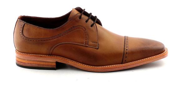 Zapato De Vestir Cuero Hombre Briganti Suela Clara Hcac00855