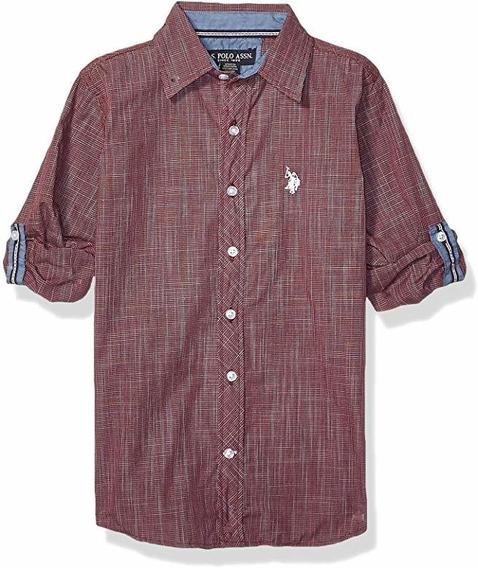 Camisa De Niño Talla 14/16 Marca Polo