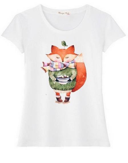 Camiseta T-shirt Feminina Estampas Exclusivas