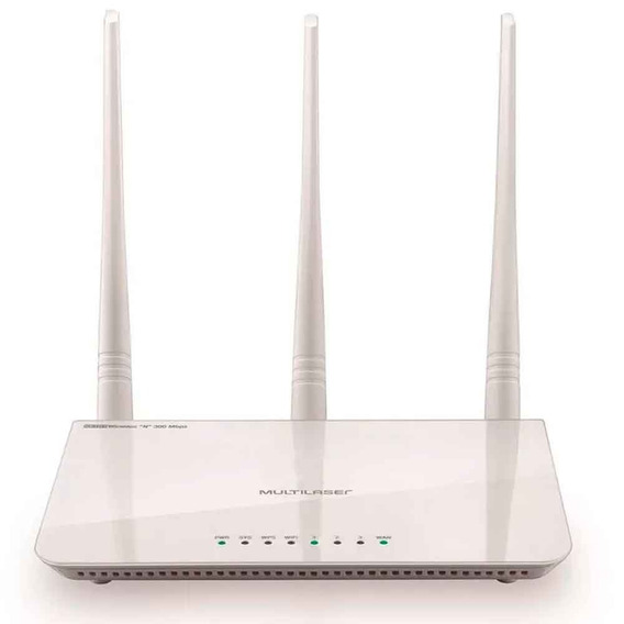 Roteador Wireless N 300 Mbps Link Qos 3 Antenas 5dbi.