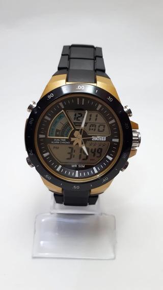 Relógio Masculino Skmei Digital E Analógico Esporte Fino