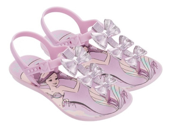 Sandália Infantil Laços Princesa Bela Grendene Kids 21794