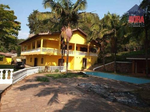 Chácara Com 7 Dormitórios À Venda, 3300 M² Por R$ 550.000,00 - Vila Pedra Vermelha - Mairiporã/sp - Ch0357